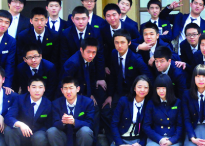 Yongnam Technology High School students, faculty members. (UNC-CFC-USFK/flick)