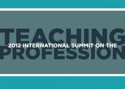2012 International Summit on the Teaching Profession