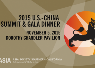Sixth Annual U.S.-China Film Summit on Thursday, November 5, 2015.