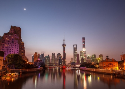 Shanghai at Twilight (Kevin Ho/Flickr)