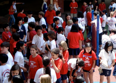 A diverse student body in Singapore. (ssedro/Creative Commons)
