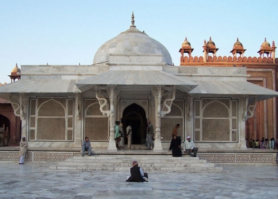 Tomb of Shaikh Salim Chisti, Sufi saint during Mughal Empire, in Uttar Pradesh.