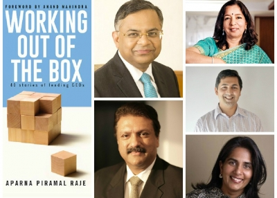 Clockwise From Top: N. Chandrasekaran, Shika Sharma, Amar Goel, Aparna Piramal Raje, Ajay Piramal