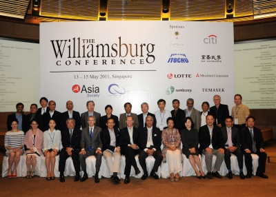 The Williamsburg Conference, Singapore, May 2011.