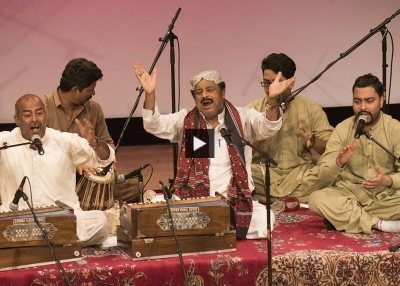 Fareed Ayaz, Abu Muhammad Qawwal and Brothers Performance at Lahore Literary Festival New York 2018