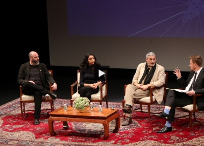 Panelists at the New York Arab World Culture Forum