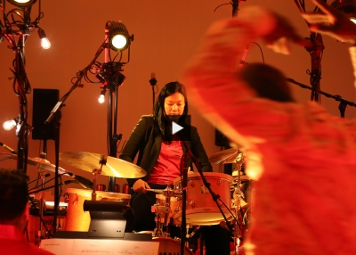 Susie Ibarra performs at Asia Society New York