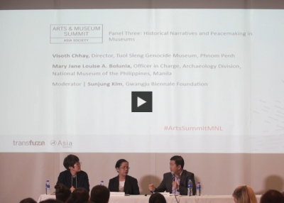 Arts & Museum Summit: Historical Narratives and Peacemaking in Museums