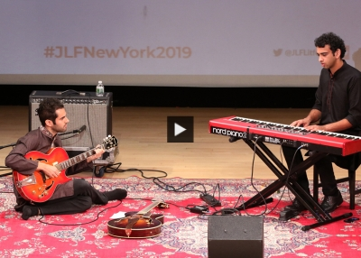 Pianist Utsav Lal and guitarist Alec Goldfarb