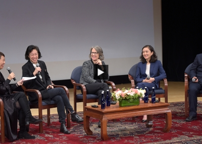 Panelists during the China-U.S. Cultural Investment Forum session II: Culture and Technology