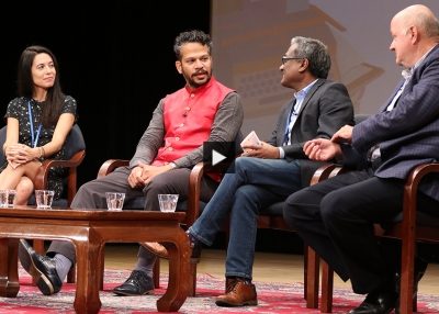 Food, Memory, and Culture panel during JLF New York 2019