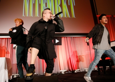 NITEMRKT Performs at the 2019 U.S.-Asia Entertainment Game Changer Awards Dinner