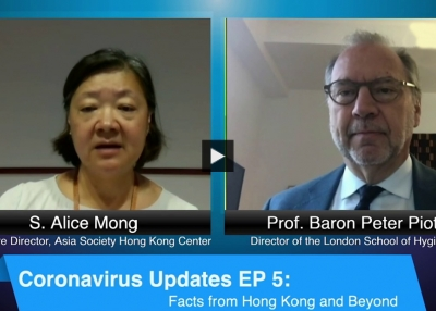 Coronavirus Updates with Prof. Baron Peter Piot, Director of the London School of Hygiene