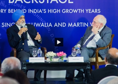 Backstage: The Story Behind India's High Growth Years