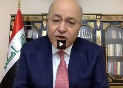 A Conversation With President of Iraq Barham Salih