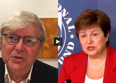 A Conversation With Managing Director of the IMF Kristalina Georgieva