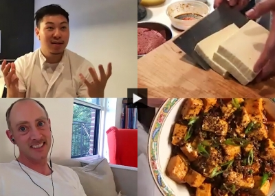 Mapo Tofu Cook-Along With Junzi Kitchen Chef Lucas Sin