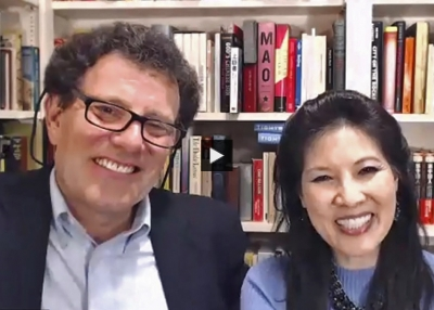 Making a Global Difference in This Pandemic Era: A Fireside Chat With Nicholas D. Kristof and Sheryl WuDunn