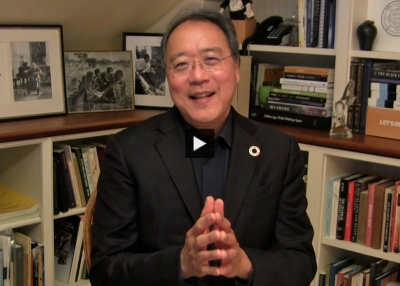 Yo-Yo Ma Accepts Asia Game Changer Award
