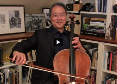 Yo-Yo Ma Performs 'Songs of Comfort' at the Asia Game Changer Awards