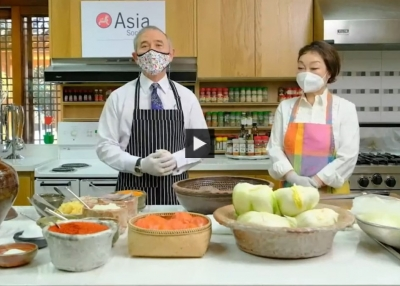 Kimchi Making with Harry Harris