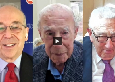 The Future of the U.S. and China Conference: A Conversation With George Shultz and Henry Kissinger