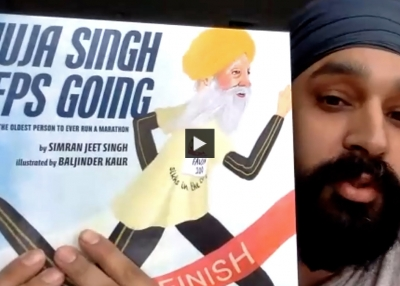 'Fauja Singh Keeps Going: The True Story of the Oldest Person to Ever Run a Marathon'