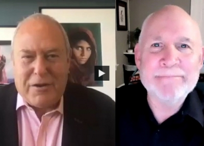 The Power of Photography: A Fireside Chat With Steve McCurry