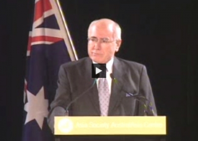 John Howard on the Asia-Pacific Economic Cooperation