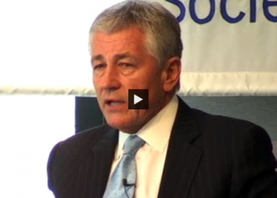 Chuck Hagel: 'You Do Have to Engage'