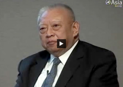 Tung Chee Hwa on US-China Relations (Complete)