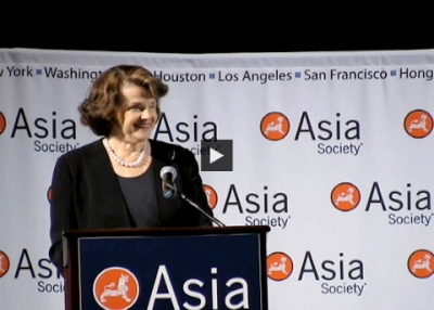 Dianne Feinstein Introduces Steven Chu