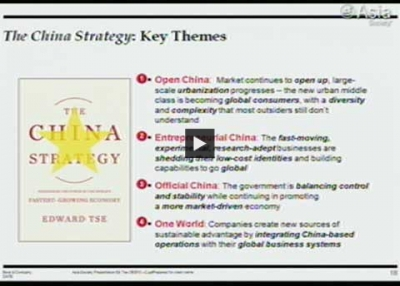 The China Strategy (Complete)