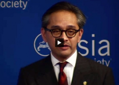 Indonesian Foreign Minister Marty Natalegawa (Complete)