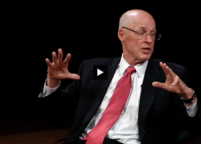 Paulson: A Level Playing Field, Predictability, and Rule of Law