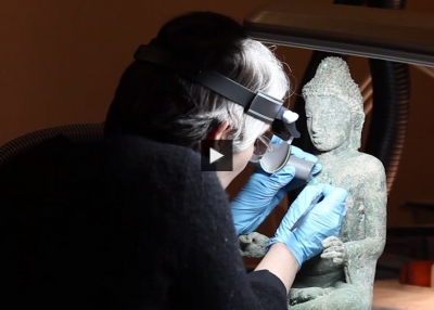 Video: Conserving Buddhist Art of Myanmar