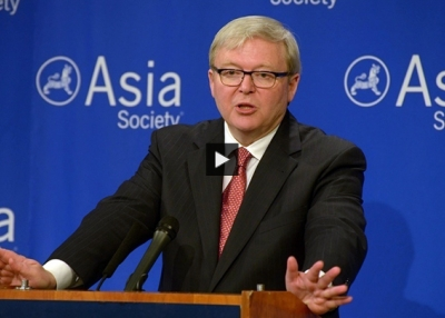 Kevin Rudd: China's 'Pan-Continental Infrastructure Agenda' Will Open a 'Second Gateway to the World'