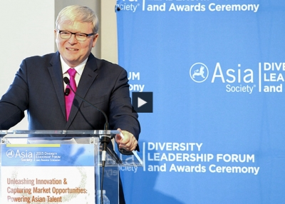 Kevin Rudd: Keynote Address at the 2015 Diversity Leadership Forum