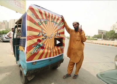 India Pakistan Peace Rickshaw