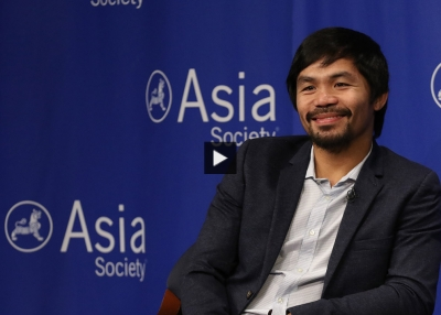 Manny Pacquiao's Asia Society Press Conference (Complete)