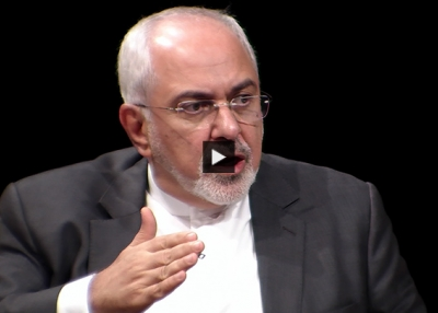 Iranian Foreign Minister: 'We Derive Our Legitimacy From the Public,' Not U.S.-Provided Weapons