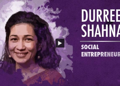 Durreen Shahnaz Accepts Asia Society Asia Game Changer Award