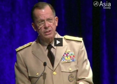 Adm. Mullen on Asia-Pacific Security (Complete)
