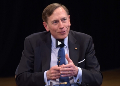 David Petraeus: One Missile Strike in Syria 'Does Not a Strategy Make'