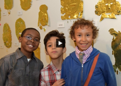 New York Schoolchildren Show Off Art Inspired by 'Philippine Gold'