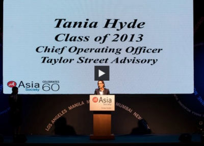 Asia 21 Young Leader Tania Hyde