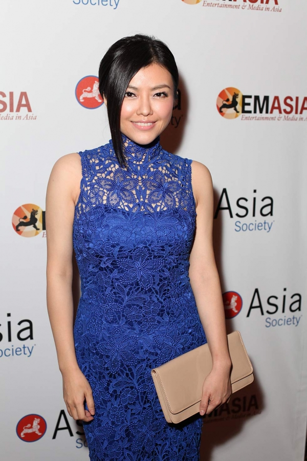 Kelly Cha, Singer-Songwriter poses during the 2013 Asia Society U.S.-China Film Summit and Gala held at the Millennium Biltmore Hotel on Tuesday, November 5, 2013, in Los Angeles, Calif. (Photo by Ryan Miller/Capture Imaging)