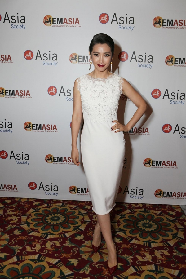 Actress Li Bingbing poses during the 2013 Asia Society U.S.-China Film Summit and Gala held at the Millennium Biltmore Hotel on Tuesday, November 5, 2013, in Los Angeles, Calif. (Photo by Ryan Miller/Capture Imaging)