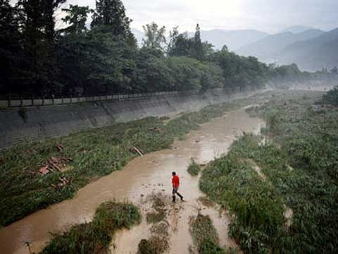 Dujiangyan, Sichuan province, China. (Sean Gallagher)