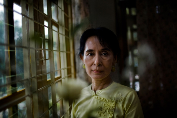 Aung San Suu Kyi. (Drn/Getty Images)